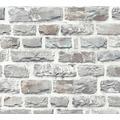 Livingwalls Vliestapete Neue Bude 2.0 Tapete in Naturstein Optik bunt grau 361403 10,05 m x 0,53 m