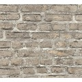 Livingwalls Vliestapete Neue Bude 2.0 Tapete in Vintage Backstein Optik braun bunt grau 361394 10,05 m x 0,53 m
