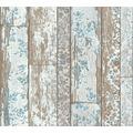 Livingwalls Vliestapete Neue Bude 2.0 Tapete in Vintage Holz Optik beige grau weiß 361191