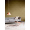 Livingwalls Vliestapete New Walls Tapete 50's Glam Art Deco Optik metallic braun beige 10,05 m x 0,53 m