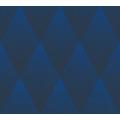 Livingwalls Vliestapete New Walls Tapete 50's Glam geometrisch grafisch blau schwarz 374191 10,05 m x 0,53 m
