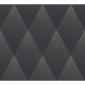 Livingwalls Vliestapete New Walls Tapete 50's Glam geometrisch grafisch schwarz metallic 374193