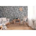 Livingwalls Vliestapete New Walls Tapete Cosy & Relax mit Kirschblüten weiß schwarz grau 10,05 m x 0,53 m