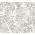 Livingwalls Vliestapete New Walls Tapete Cosy & Relax Palmenblätter beige braun creme 373962