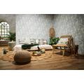 Livingwalls Vliestapete New Walls Tapete Cosy & Relax Palmenblätter creme beige grün 373964