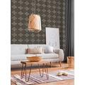 Livingwalls Vliestapete New Walls Tapete Finca Home in Fliesen Optik grau schwarz 374213 10,05 m x 0,53 m