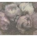 Livingwalls Vliestapete New Walls Tapete Romantic Dream mit romantischen Rosen grün lila 373921 10,05 m x 0,53 m