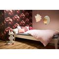 Livingwalls Vliestapete New Walls Tapete Romantic Dream mit romantischen Rosen rot schwarz 10,05 m x 0,53 m