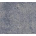 Livingwalls Vliestapete New Walls Tapete Urban Grace Vintage Uni Optik blau grau metallic 374255 10,05 m x 0,53 m