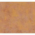 Livingwalls Vliestapete New Walls Tapete Urban Grace Vintage Uni Optik braun orange 374253