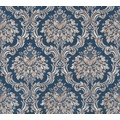 Livingwalls Vliestapete Paradise Garden Tapete mit Ornamenten barock blau metallic beige 367167 10,05 m x 0,53 m
