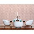 Livingwalls Vliestapete Paradise Garden Tapete mit Ornamenten barock rosa beige 367162 10,05 m x 0,53 m