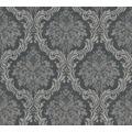 Livingwalls Vliestapete Paradise Garden Tapete mit Ornamenten barock schwarz grau 367166 10,05 m x 0,53 m