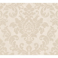Livingwalls Vliestapete Trendwall Tapete mit Ornamenten barock beige creme metallic 372703 10,05 m x 0,53 m