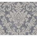 Livingwalls Vliestapete Trendwall Tapete mit Ornamenten barock beige grau metallic 372701 10,05 m x 0,53 m