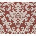 Livingwalls Vliestapete Trendwall Tapete mit Ornamenten barock beige metallic rot 372705 10,05 m x 0,53 m