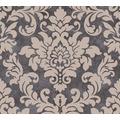 Livingwalls Vliestapete Trendwall Tapete mit Ornamenten barock beige metallic schwarz 372704 10,05 m x 0,53 m