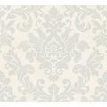 Livingwalls Vliestapete Trendwall Tapete mit Ornamenten barock grau metallic weiß 372702