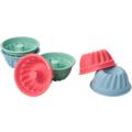 Lurch Flexiform Muffinliner Gugelhupf 6er Set Pastel Mix