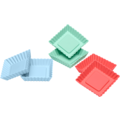 Lurch Flexiform Tortelett Quader 6er Set Pastel Mix