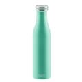 Lurch Isolier-Flasche 750ml pearl green grün aus Edelstahl Thermoflasche hält bis zu 12 Stunden heiß/kalt