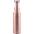 Lurch Isolier-Flasche 750ml roségold aus Edelstahl Thermoflasche hält bis zu 12 Stunden heiß oder kalt