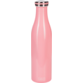Lurch Isolierflasche 0,75l soft pink, hält 12 Std. heiß/kalt, 100% dicht, Thermo-Flasche Trinkflasche 750ml Edelstahl