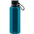 Lurch Outdoor Isolierflasche 1000ml wasserblau aus Edelstahl hält bis zu 12 Stunden heiß / 24 Stunden kalt