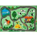 Luxor Living Kinderteppich Bauernhof bunt 160 x 230 cm