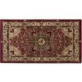 Luxor Living Teppich Kendra creme-rot 200 cm x 285 cm