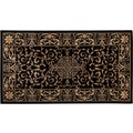 Luxor Living Teppich Kendra creme-schwarz 200 cm x 285 cm