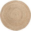 Luxor Living Teppich Mamda creme beige 80 rund