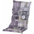 MADISON Auflage für Sessel hoch, Ruita lime 50% Baumwolle / 50% Polyester