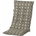 MADISON Rondo grün Outdoor Auflage hoch Stoff wasserdicht, Bezug 50% Baumwolle / 45% Polyester