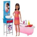 Barbie Barbie Deluxe-Set Möbel Badezimmer & Puppe