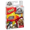 Mattel Jurassic World Uno Kartenspiel