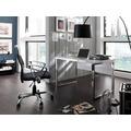 MCA furniture Sydney Office Schreibtisch in hochglanz weiß