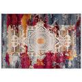 me gusta Teppich Anouk 925 Multi / Rot 120 x 170 cm