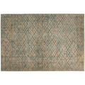 me gusta Teppich Antique 125 Blau / Gold / Khaki 120 x 180 cm