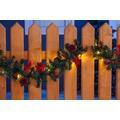 merxx Girlande 5 m, 80er LED Lichterkette, dekoriert, rot, außen