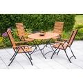 merxx Schlossgarten Set 5tlg., 5 Pos & ovaler Tisch
