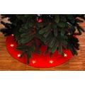 merxx Weihnachtsbaumunterlage Ø90 cm, mit 13 LED's