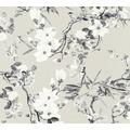 Michalsky Living Vliestapete Dream Again Tapete floral grau weiß beige 10,05 m x 0,53 m