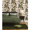 Michalsky Living Vliestapete Dream Again Tapete floral grün rosa weiß 10,05 m x 0,53 m