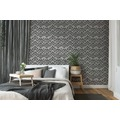 Michalsky Living Vliestapete Dream Again Tapete im Ethno Look metallic grau schwarz 10,05 m x 0,53 m