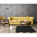 Michalsky Living Vliestapete Dream Again Tapete im Leoparden Look metallic creme weiß 10,05 m x 0,53 m