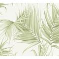Michalsky Living Vliestapete Dream Again Tapete mit Palmenprint in Dschungel Optik creme weiß grün