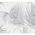 Michalsky Living Vliestapete Dream Again Tapete mit Palmenprint in Dschungel Optik weiß grau 10,05 m x 0,53 m