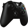 Microsoft Xbox One Controller, schwarz