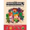 Minecraft - Das große Abenteuer-Stickerbuch